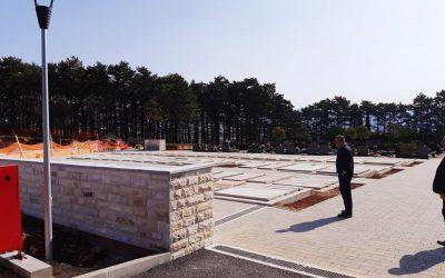 Proširenje groblja Cernik